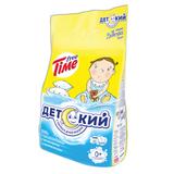 Стиральный порошок для всех типов стирки 3 кг, FREE TIME (Фри Тайм) «Детский» (Нэфис Косметикс)
