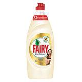 Средство для мытья посуды, 650 мл, FAIRY (Фейри) ProDerma «Алоэ Вера и Кокос», для чувствительной кожи рук