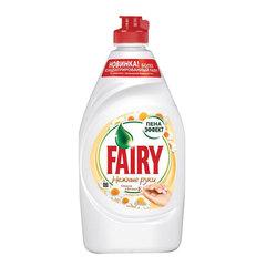 Средство для мытья посуды, 450 мл, FAIRY (Фейри) «Ромашка и витамин Е»