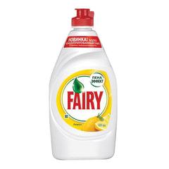 Средство для мытья посуды, 450 мл, FAIRY (Фейри) «Сочный лимон»
