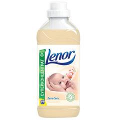 Кондиционер-ополаскиватель для белья, 2 л, LENOR (Ленор), «Миндальное масло», концентрат
