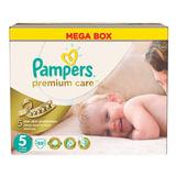 Подгузники 88 шт., PAMPERS (Памперс) Premium Care, размер 5 (11- 18 кг)