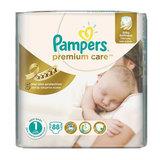 Подгузники 88 шт., PAMPERS (Памперс) Premium Care Newborn, размер 1 (2-5 кг)