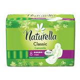 Прокладки женские гигиенические NATURELLA (Натурелла) «Classic Camomile Maxi», 8 шт.