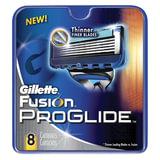 Сменные кассеты для бритья GILLETTE (Жиллет) «Fusion ProGlide», 8 шт., для мужчин