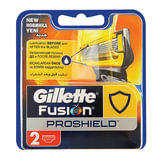 Сменные кассеты для бритья GILLETTE (Жиллет) «Fusion ProShield», 2 шт., для мужчин
