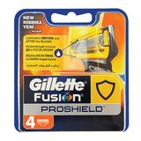 Сменные кассеты для бритья GILLETTE (Жиллет) «Fusion ProShield», 4 шт., для мужчин
