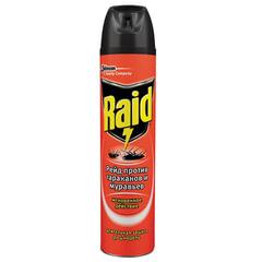 Средство от насекомых 300 мл, RAID (Рейд), аэрозоль, от муравьев и тараканов