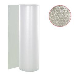 Пленка воздушно-пузырчатая 2-х слойная, ширина 1,2 м, длина 50 м, плотность 40 г/<wbr/>м<sup>2</sup>