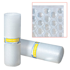 Пленка воздушно-пузырчатая UPAKUIKA, 2-х слойная, 0,4×5 м, плотность 75 г/<wbr/>м<sup>2</sup>