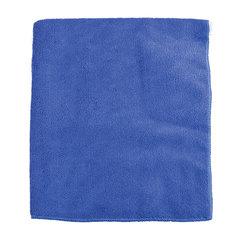 Тряпки для мытья пола из микрофибры ОФИСМАГ, комплект 3 шт., 50×60 см, цвет синий
