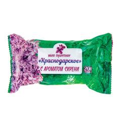 Мыло туалетное 200 г, Краснодарское, (Меридиан), «Сирень»
