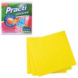 Салфетки универсальные, комплект 4 шт., 38×40 см, PACLAN «Practi», нетканое полотно