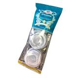 Крышки полиэтиленовые d-82 мм, комплект 10 шт., для холодных пищевых продуктов, МОСКВИЧКА