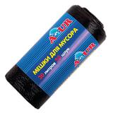 Мешки для мусора 30 л, комплект 50 шт., рулон, ПНД, 50×50 см, 6 мкм, YORK AZUR, черные