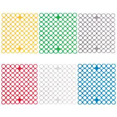Сетка-решетка для раковины эластичная, прямоугольная, 29×26×0,5 см, цвет ассорти, YORK