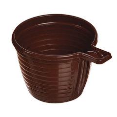 Одноразовая чашка, 180 мл, 1 шт., полипропилен (ПП), коричневая, для чая/<wbr/>кофе, СТИРОЛПЛАСТ
