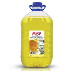 Средство для мытья посуды 5 кг, НИКА «Супер», лимон, концентрат, ПЭТ