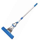 Швабра для уборки с отжимом, ручка телескопическая 65-120 см, насадка PVA 27см, «Top», YORK