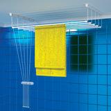 Сушилка для белья, 12 м длина сушки, ширина 150 см, навесная, балкон/<wbr/>ванная, «Потолок», DOGRULAR