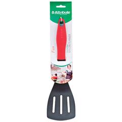 Лопатка для кухни, пищевой термостойкий пластик, цветная рукоятка, подвес, «Fun», ATTRIBUTE