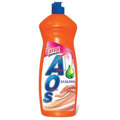 Средство для мытья посуды 900 мл, AOS «Бальзам»