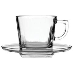 Набор чайный, на 6 персон (6 чашек объемом 210 мл, 6 блюдец), стекло, «Baltic», PASABAHCE