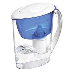 Кувшин-фильтр для очистки воды БАРЬЕР «Экстра», 2,5 л, со сменной кассетой, индиго
