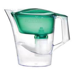 Кувшин-фильтр для очистки воды БАРЬЕР «Твист», 4 л, со сменной кассетой, зеленый