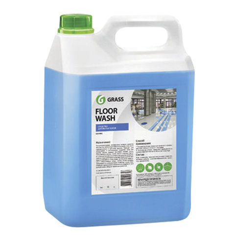 Средство для мытья пола 5,1 кг GRASS FLOOR WASH, нейтральное, низкопенное, концентрат