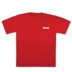 Футболка ОФИСМАГ, хлопок 100%, красная, р. 48-50 (L)