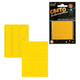 Наклейки светоотражающие для велосипедов, 150×92 мм, желтые