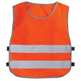 Жилет детский светоотражающий, размер 30-34, рост 122-140 см, 7-10 лет, оранжевый