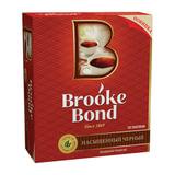 Чай BROOKE BOND (Брук Бонд), черный, 100 пакетиков с ярлычками по 1,8 г