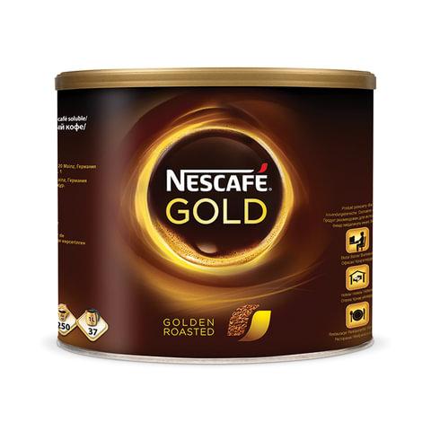"""Кофе растворимый NESCAFE """"Gold"""", сублимированный, 500 г, жестяная банка"""