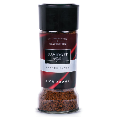 Кофе растворимый DAVIDOFF «Rich Aroma», гранулированный, премиум-класса, 100 г, стеклянная банка