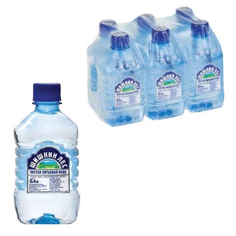 """Вода газированная питьевая """"Шишкин лес"""", 0,4 л, пластиковая бутылка"""