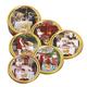 Печенье датское BISCA Queen's «Чудесные дни», сливочно-шоколадное, в железной банке, 454 г