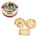 Печенье датское BISCA Queen's «Премиум», ассорти, в железной банке, 400 г
