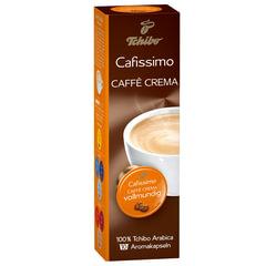 Капсулы для кофемашин TCHIBO Cafissimo Caffe Crema Vollmundig, натуральный кофе, 10 шт. х 8 г