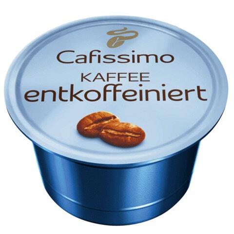 Капсулы для кофемашин TCHIBO Cafissimo Caffe Entkoffeiniert, нат. кофе без кофеина, 10 шт.х 7 г