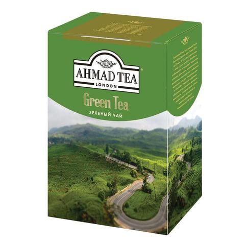 Чай AHMAD (Ахмад) «Green Tea», зеленый листовой, картонная коробка, 200 г
