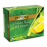 ��� TWININGS «Green tea Lemon», �������, �� ������ ������, 50 ���������