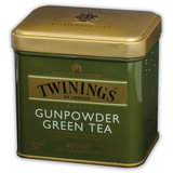 Чай TWININGS (Твайнингс) «Green tea Gunpowder», зеленый, железная банка, 100 г