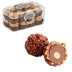 Конфеты FERRERO «Rocher», шоколадные, 200 г, пластиковая упаковка