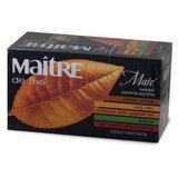 Чай MAITRE (Мэтр) «Ассорти»: имбирь-корица/<wbr/>мед-мята/<wbr/>апельсин-мята/<wbr/>вербен/<wbr/>шиповник-мята-клубника, 25 пакетиков в конвертах по 2 г