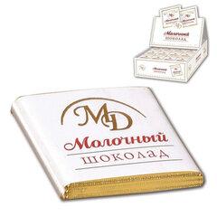Шоколад порционный МОНЕТНЫЙ ДВОР, молочный шоколад 42%, 200 плиток по 5 г, в шоубоксах (упаковка 1 кг)