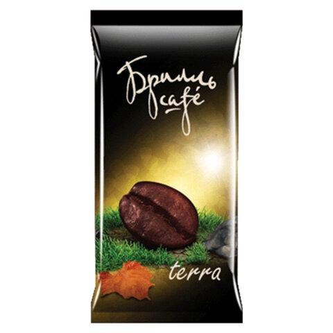 Капсулы для кофемашин (стандарт LEP) БРИЛЛЬ CAFE «Terra», натуральный кофе, 20 шт. х 8 г