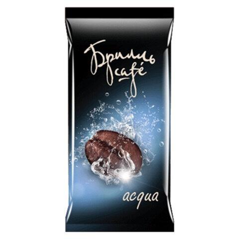 Капсулы для кофемашин (стандарт LEP) БРИЛЛЬ CAFE «Acqua», натуральный кофе, 20 шт. х 8 г