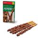 Печенье-соломка LOTTE «Pepero Almond», с шоколадной начинкой, в картонной упаковке, 36 г